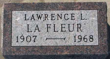 LA FLEUR, LAWRENCE L. - Union County, South Dakota | LAWRENCE L. LA FLEUR - South Dakota Gravestone Photos