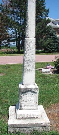 LABELLE, VINCENT - Union County, South Dakota | VINCENT LABELLE - South Dakota Gravestone Photos