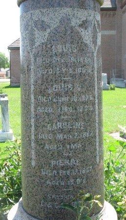 LABRECHE, LOUIS V. - Union County, South Dakota | LOUIS V. LABRECHE - South Dakota Gravestone Photos