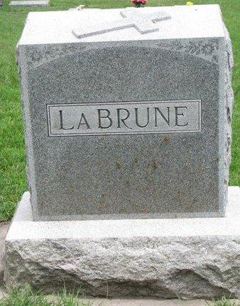 LABRUNE, *FAMILY MONUMENT-ADALINE & GEORGE - Union County, South Dakota   *FAMILY MONUMENT-ADALINE & GEORGE LABRUNE - South Dakota Gravestone Photos