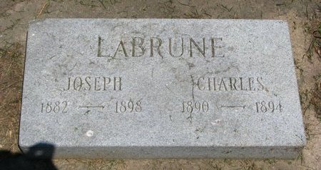 LABRUNE, CHARLES - Union County, South Dakota | CHARLES LABRUNE - South Dakota Gravestone Photos