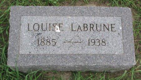 LABRUNE, MARY LOUISE - Union County, South Dakota | MARY LOUISE LABRUNE - South Dakota Gravestone Photos