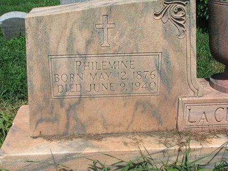 LACHAPELLE, PHILEMINE (CLOSEUP) - Union County, South Dakota | PHILEMINE (CLOSEUP) LACHAPELLE - South Dakota Gravestone Photos