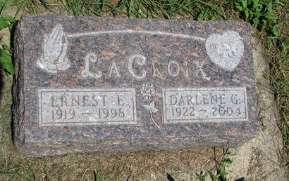 LACROIX, ERNEST E. - Union County, South Dakota | ERNEST E. LACROIX - South Dakota Gravestone Photos