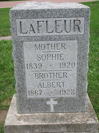 LAFLEUR, ALBERT - Union County, South Dakota | ALBERT LAFLEUR - South Dakota Gravestone Photos