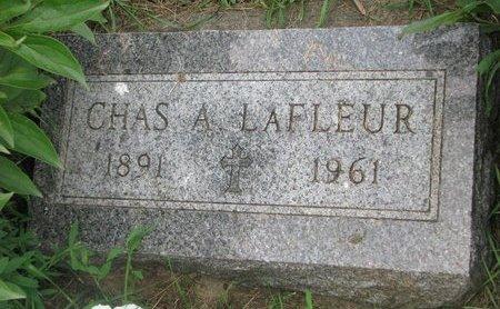 LAFLEUR, CHARLES A. - Union County, South Dakota   CHARLES A. LAFLEUR - South Dakota Gravestone Photos