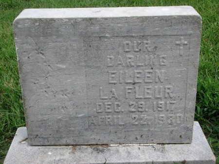 LAFLEUR, EILEEN - Union County, South Dakota   EILEEN LAFLEUR - South Dakota Gravestone Photos