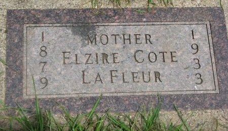 LAFLEUR, ELZIRE - Union County, South Dakota | ELZIRE LAFLEUR - South Dakota Gravestone Photos