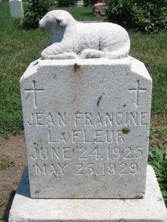 LAFLEUR, JEAN FRANCINE - Union County, South Dakota   JEAN FRANCINE LAFLEUR - South Dakota Gravestone Photos