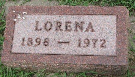 LAFLEUR, LORENA - Union County, South Dakota | LORENA LAFLEUR - South Dakota Gravestone Photos