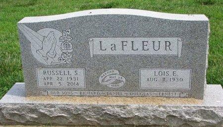 LANDERS LAFLEUR, LOIS E. - Union County, South Dakota | LOIS E. LANDERS LAFLEUR - South Dakota Gravestone Photos