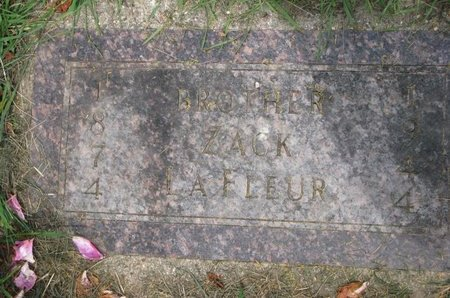 LAFLEUR, ZACK - Union County, South Dakota | ZACK LAFLEUR - South Dakota Gravestone Photos