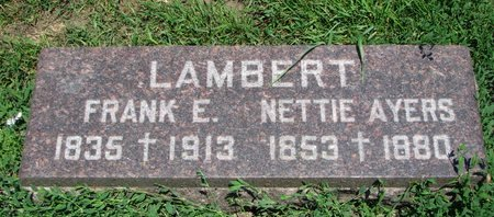 LAMBERT, FRANK E. - Union County, South Dakota | FRANK E. LAMBERT - South Dakota Gravestone Photos