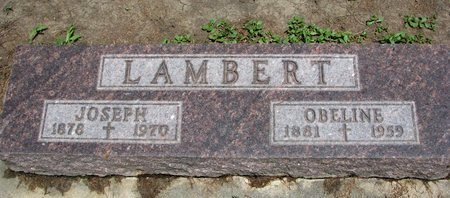 CHICOINE LAMBERT, OBELINE - Union County, South Dakota | OBELINE CHICOINE LAMBERT - South Dakota Gravestone Photos