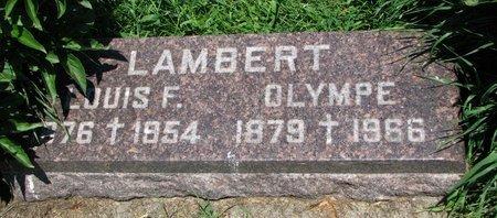 LAMBERT, LOUIS F. - Union County, South Dakota | LOUIS F. LAMBERT - South Dakota Gravestone Photos