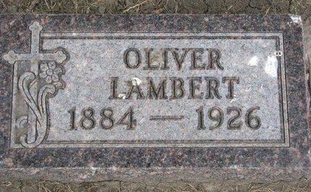 LAMBERT, OLIVER - Union County, South Dakota | OLIVER LAMBERT - South Dakota Gravestone Photos
