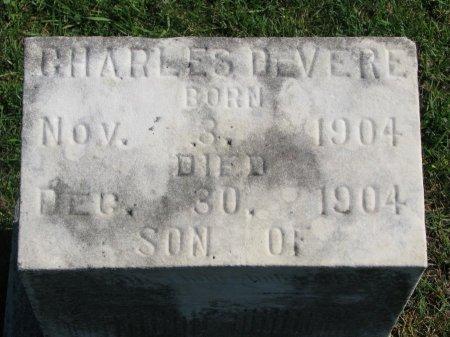 LAMBERTSON, CHARLES DEVERE (CLOSE UP) - Union County, South Dakota | CHARLES DEVERE (CLOSE UP) LAMBERTSON - South Dakota Gravestone Photos