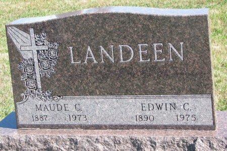 LANDEEN, MAUDE C. - Union County, South Dakota | MAUDE C. LANDEEN - South Dakota Gravestone Photos
