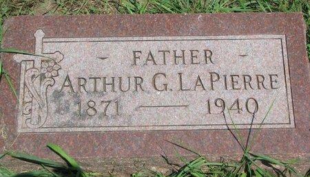 LAPIERRE, ARTHUR G. - Union County, South Dakota | ARTHUR G. LAPIERRE - South Dakota Gravestone Photos