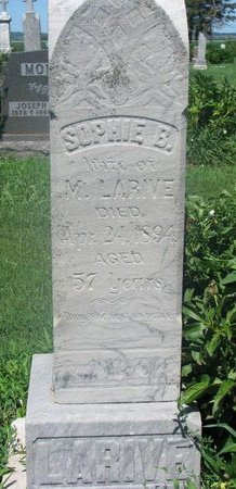 LARIVE, SOPHIE B. - Union County, South Dakota | SOPHIE B. LARIVE - South Dakota Gravestone Photos