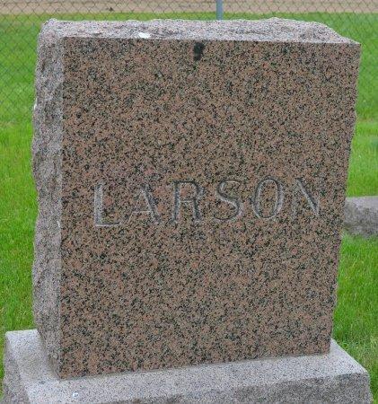 LARSON, *FAMILY MONUMENT - Union County, South Dakota | *FAMILY MONUMENT LARSON - South Dakota Gravestone Photos