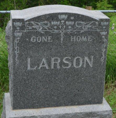 LARSON, *FAMILY MONUMENT - Union County, South Dakota   *FAMILY MONUMENT LARSON - South Dakota Gravestone Photos