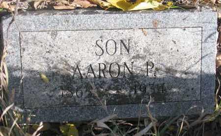 LARSON, AARON P. - Union County, South Dakota   AARON P. LARSON - South Dakota Gravestone Photos