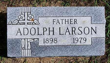 LARSON, ADOLPH - Union County, South Dakota   ADOLPH LARSON - South Dakota Gravestone Photos