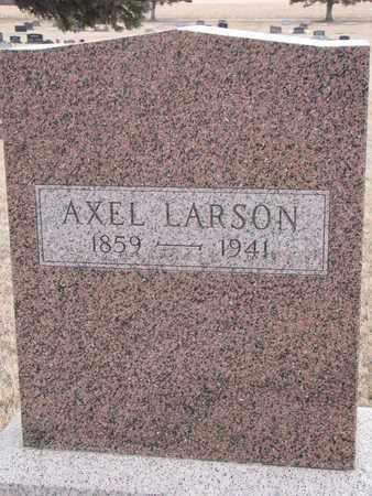 LARSON, AXEL - Union County, South Dakota   AXEL LARSON - South Dakota Gravestone Photos