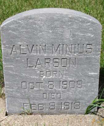 LARSON, ALVIN MINIUS - Union County, South Dakota   ALVIN MINIUS LARSON - South Dakota Gravestone Photos