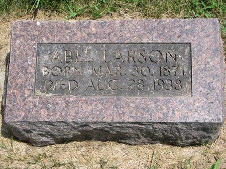 LARSON, ABEL - Union County, South Dakota   ABEL LARSON - South Dakota Gravestone Photos