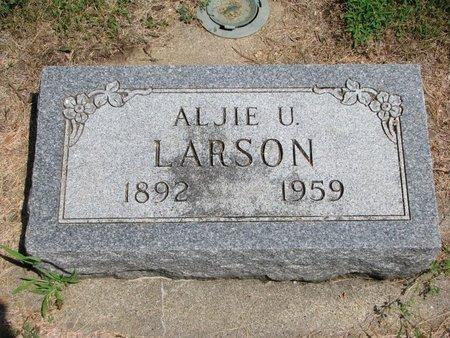 LARSON, ALJIE ULYSSES - Union County, South Dakota | ALJIE ULYSSES LARSON - South Dakota Gravestone Photos