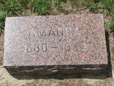 LARSON, AMANDA - Union County, South Dakota   AMANDA LARSON - South Dakota Gravestone Photos