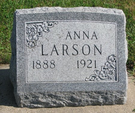 LARSON, ANNA - Union County, South Dakota | ANNA LARSON - South Dakota Gravestone Photos