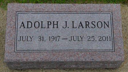 LARSON, ADOLPH J. - Union County, South Dakota   ADOLPH J. LARSON - South Dakota Gravestone Photos