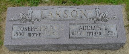 LARSON, JOSEPHINE B. - Union County, South Dakota | JOSEPHINE B. LARSON - South Dakota Gravestone Photos