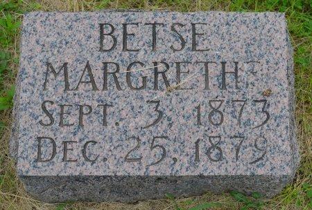 LARSON, BETSE MARGRETHE - Union County, South Dakota   BETSE MARGRETHE LARSON - South Dakota Gravestone Photos