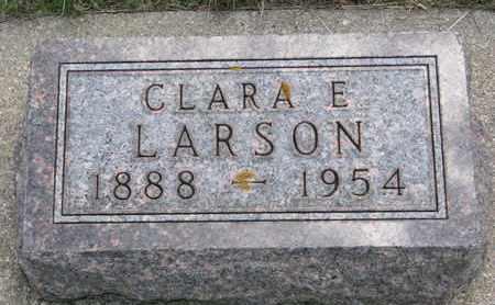 LARSON, CLARA E. - Union County, South Dakota   CLARA E. LARSON - South Dakota Gravestone Photos