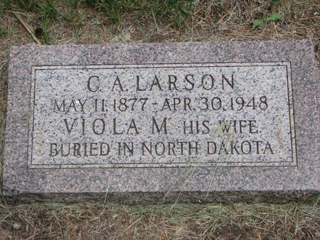 LARSON, C. A. - Union County, South Dakota | C. A. LARSON - South Dakota Gravestone Photos