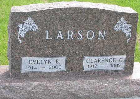 LARSON, CLARENCE G. - Union County, South Dakota | CLARENCE G. LARSON - South Dakota Gravestone Photos