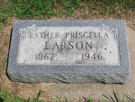 LARSON, ESTHER PRISCELLA - Union County, South Dakota   ESTHER PRISCELLA LARSON - South Dakota Gravestone Photos