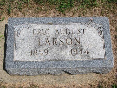 LARSON, ERIC AUGUST - Union County, South Dakota | ERIC AUGUST LARSON - South Dakota Gravestone Photos