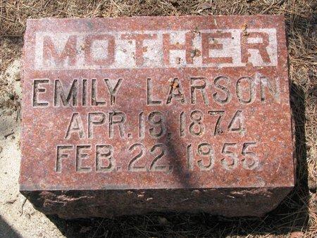 LARSON, EMILY - Union County, South Dakota | EMILY LARSON - South Dakota Gravestone Photos