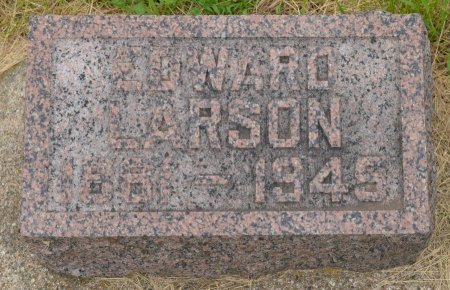 LARSON, EDWARD - Union County, South Dakota | EDWARD LARSON - South Dakota Gravestone Photos