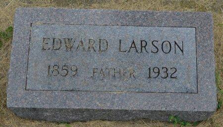 LARSON, EDWARD. - Union County, South Dakota   EDWARD. LARSON - South Dakota Gravestone Photos