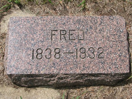 LARSON, FRED - Union County, South Dakota | FRED LARSON - South Dakota Gravestone Photos