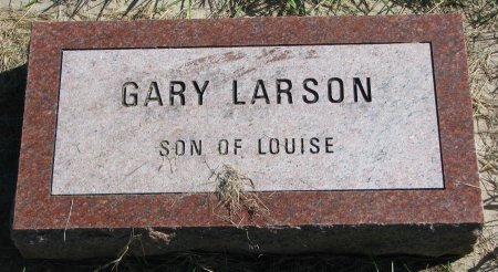 LARSON, GARY - Union County, South Dakota   GARY LARSON - South Dakota Gravestone Photos