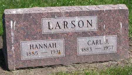 LARSON, CARL J. - Union County, South Dakota   CARL J. LARSON - South Dakota Gravestone Photos