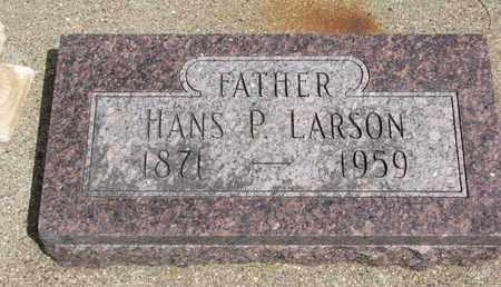 LARSON, HANS P. - Union County, South Dakota | HANS P. LARSON - South Dakota Gravestone Photos