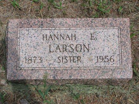 LARSON, HANNAH E. - Union County, South Dakota | HANNAH E. LARSON - South Dakota Gravestone Photos